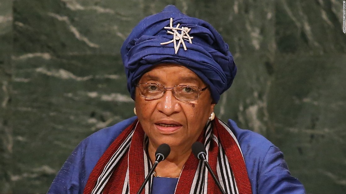 Ellen Johnson Sirleaf, 77, is the 24th and current President of Liberia. She is the first elected female head of state in Africa.
