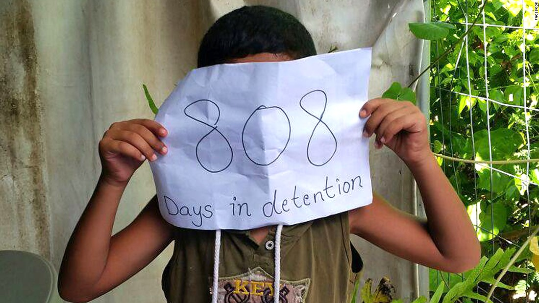 "According to the most recent Australian government figures, 537 people were being held in the Nauru detention center, <a href=""http://www.border.gov.au/ReportsandPublications/Documents/statistics/immigration-detention-statistics-30-dec-2015.pdf"" target=""_blank"">at December 30, 2015. </a>Of those, 68 were children."