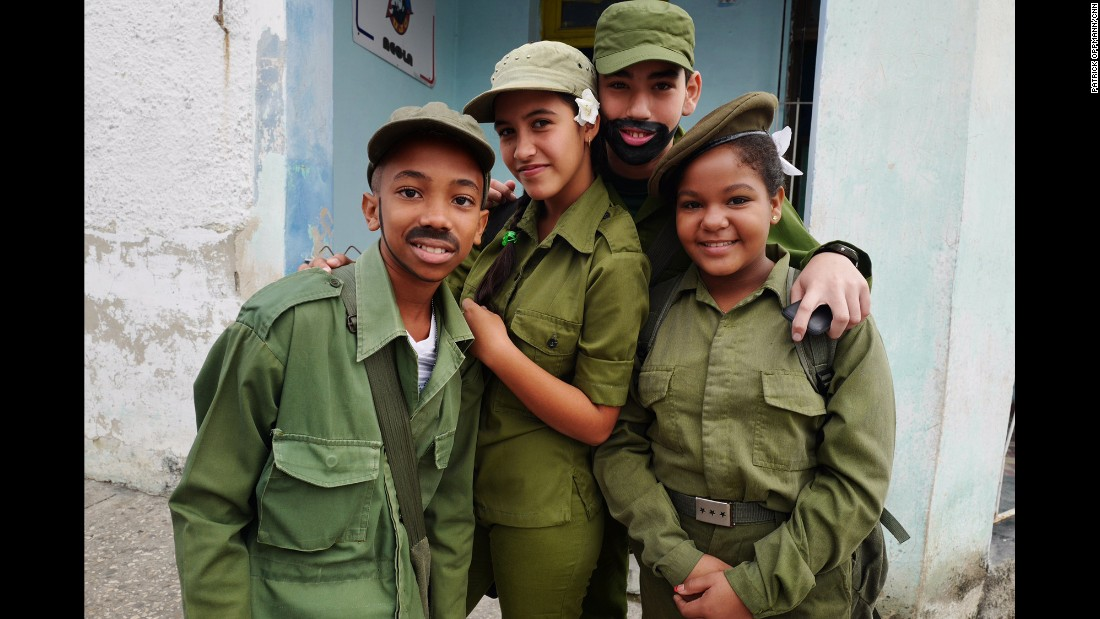 "CUBA: Cuban children dressed up as revolutionaries this past weekend for the 57th anniversary of Fidel Castro's arrival to Havana. These kids, like most Cubans, have only lived under Castro's revolution. Photo by CNN's Patrick Oppmann <a href=""http://instagram.com/cubareporter"" target=""_blank"">@cubareporter</a>."