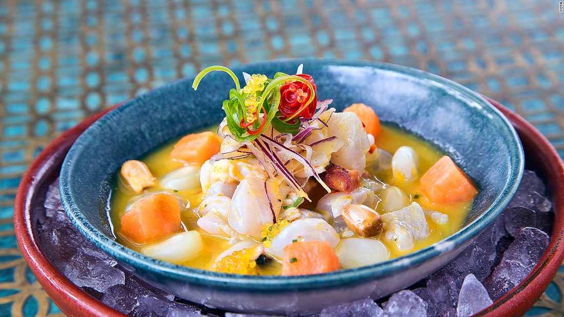 Peruvian cuisine moves into Dubai with the 2015 opening of Coya, a restaurant that's already proved to be a big success in London. No surprise that seafood ceviche is a big draw, as are specials like the ox heart with aji spicy sauce.