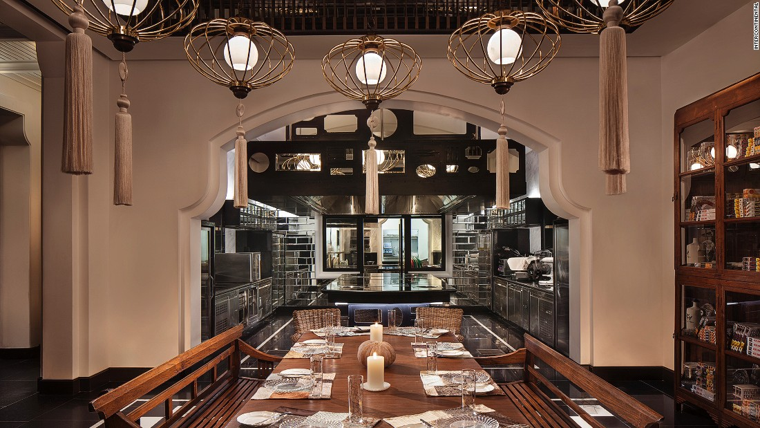 Legendary French chef Pierre Gagnaire took over the InterContinental Danang Peninsula Resort's Maison 1888 restaurant last year. It serves classical French cuisine with contemporary flair that integrates global and local ingredients.