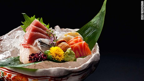 Fish flown in daily from Tsukiji? We'll step away from the baccarat tables for that.