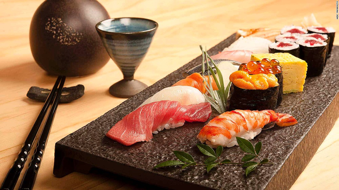 Macau's drive to diversify its dining options continues with Hide Yamamoto. Fish is flown in daily from Tokyo's Tsukiji market for the sushi bar, wagyu features on the robata grill and ramen is prepared with a 110-year-old technique.