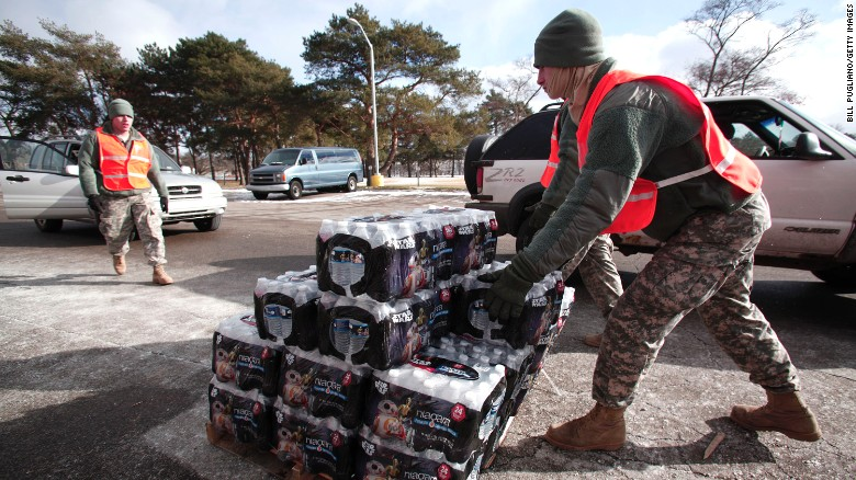 Cover-up allegations in Flint water crisis