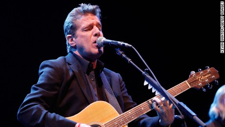 INDIO, CA - MAY 02:  Musician Glenn Frey of the Eagles performs onstage during day 1 of the 2008 Stagecoach Country Music Festival held at the Empire Polo Field on May 2, 2008 in Indio, California.  (Photo by Kevin Winter/Getty Images)
