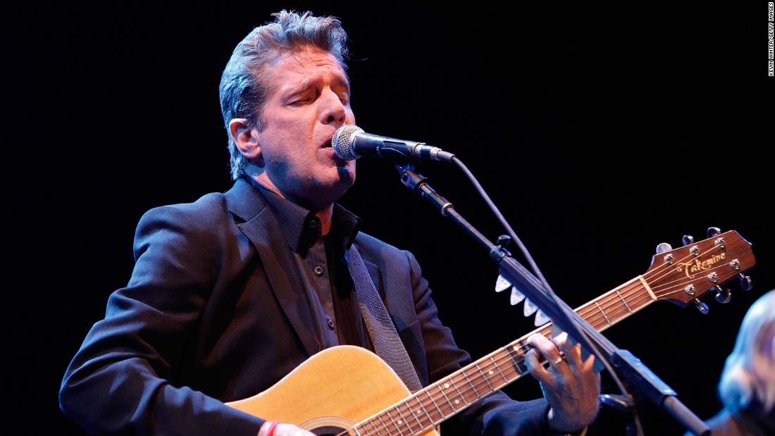 "<a href=""http://www.cnn.com/2016/01/18/entertainment/glenn-frey-obit-feat/index.html"" target=""_blank"">Glenn Frey</a>, a founding member of the Eagles, died at the age of 67, a publicist for the band confirmed on January 18. ""Glenn fought a courageous battle for the past several weeks but, sadly, succumbed to complications from rheumatoid arthritis, acute ulcerative colitis and pneumonia,"" read a post on the band's official website. Frey had been suffering from intestinal issues."