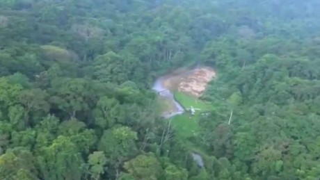 Lost city revealed in jungles of Honduras
