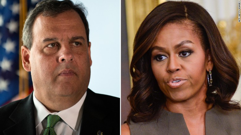Chris Christie on U.S. school lunches