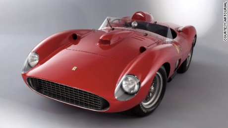 The car's numerous Grand Prix finishes at races around the world helped Ferrari win the World Constructors' Title in 1957.