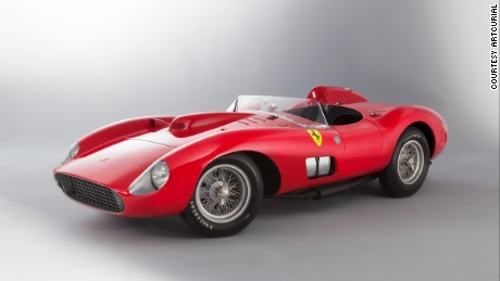 The very last example to leave the factory, this car has been in the same family for 33 years and has never before been offered at auction.  Estimate: €9 million -- ���12 million