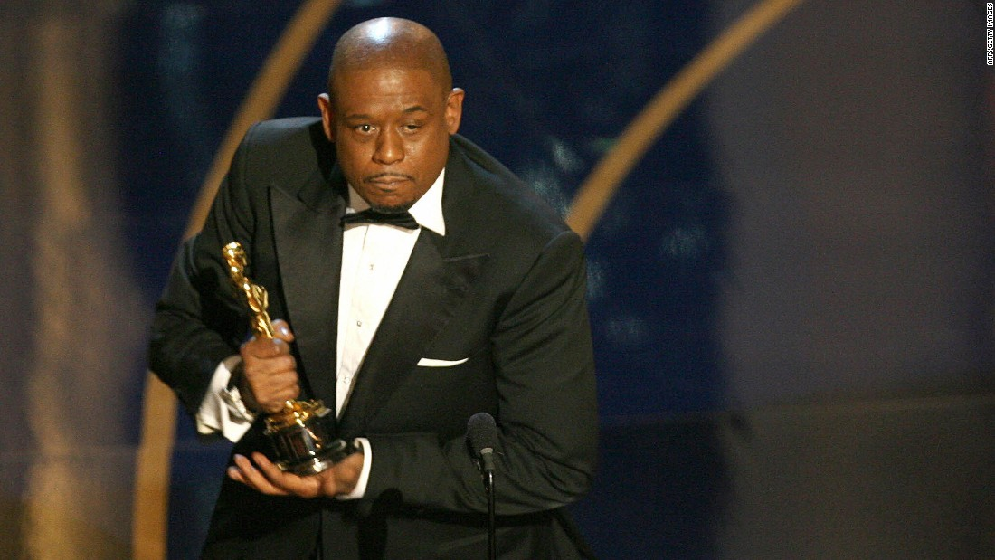 """The Last King of Scotland"" star Forest Whitaker won best actor in 2007."