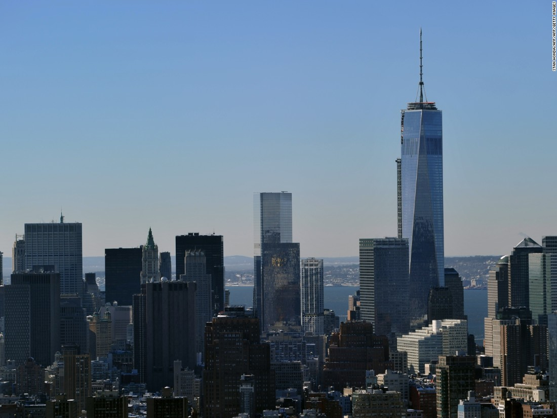"Known as the ""Freedom Tower,"" One World Trade Center stands on part of the site previously occupied by the Twin Towers. At 541 meters (1,776 feet) it's the highest building in the western hemisphere, and cost $3.9 billion according to <a href=""http://www.forbes.com/sites/morganbrennan/2012/04/30/1-world-trade-center-officially-new-yorks-new-tallest-building/#2715e4857a0b564dc6e76cc2"" target=""_blank"">Forbes</a>. The building was designed by<strong> </strong>Skidmore, Owings & Merrill."