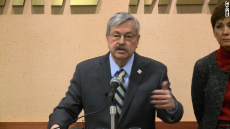 "NS Slug: IA:GOVERNOR SAYS HE WANTS TED CRUZ DEFEATED  Synopsis: Gov. Terry Branstad: ""He is the biggest opponent of renewable fuels""  Keywords: IOWA GOVERNOR TED BRANSTAD POLITICS"