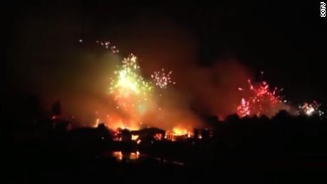 cnnee vo cafe fire fireworks _00000728