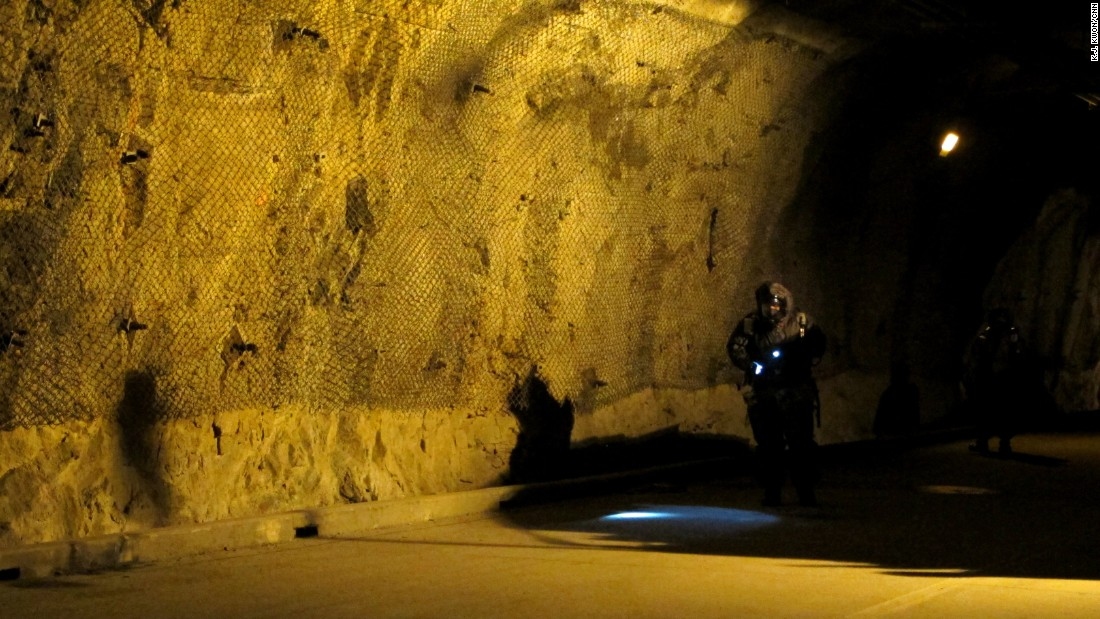The team surveys the underground facility suspected of being used to store nuclear weapons. The 23rd Chemical Battalion is the first line of defense against chemical, biological or nuclear attack from North Korea.