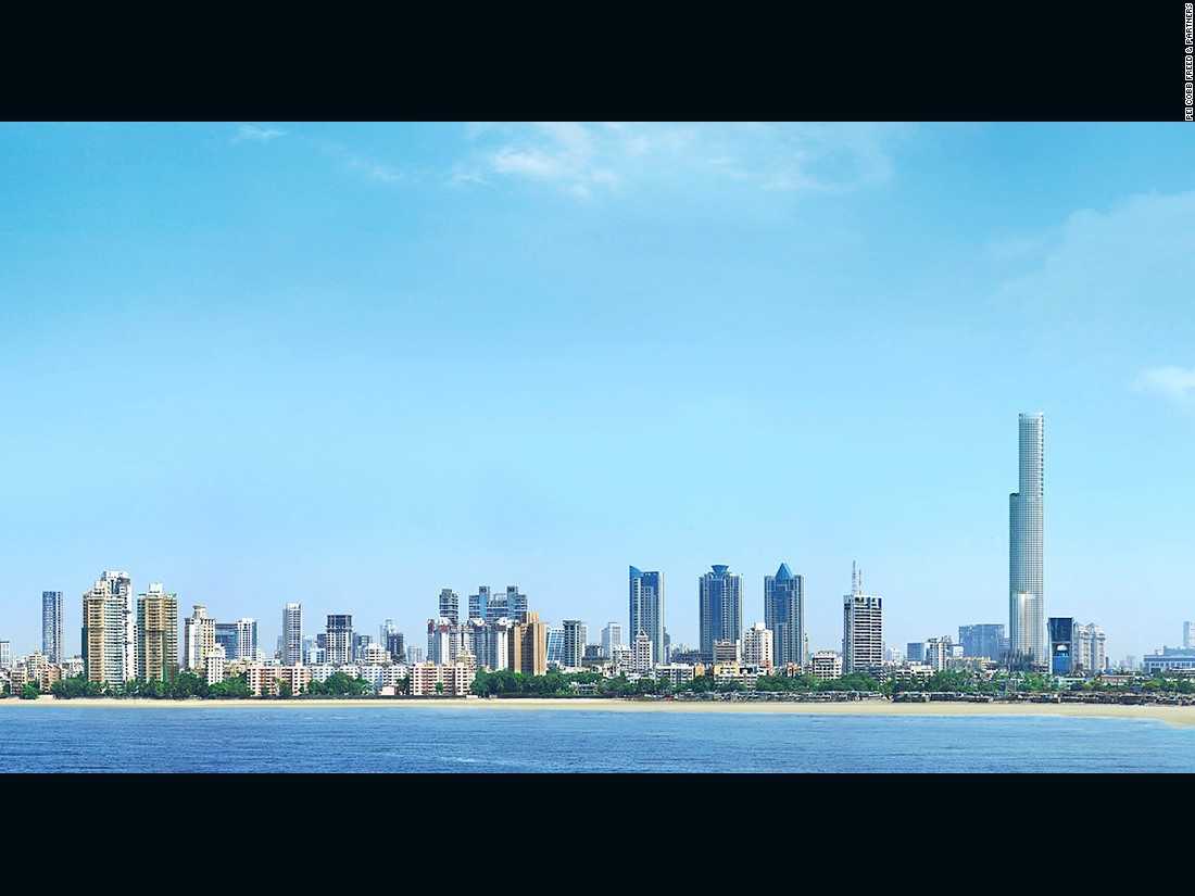 "The World One skyscraper in Mumbai will be as tall as the Willis Tower, the second tallest building in North America, and will be one of the world's tallest residential structures. <br /><br /><strong>Height: </strong>442 meters (1450 feet)<br /><strong>Architect:</strong> <a href=""http://www.pcf-p.com/a/f/"" target=""_blank"">Pei Cobb Freed & Partners</a>"