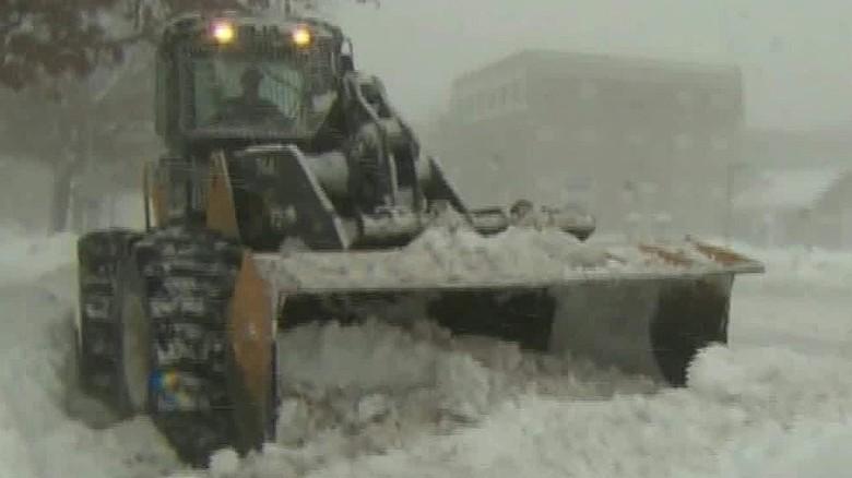 50 million brace for snowstorm
