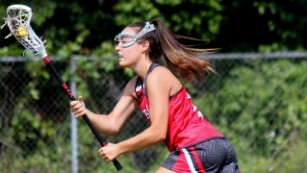 Christine Carugati started getting recruited for college lacrosse right after ninth grade.