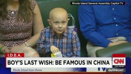 Dying boy wants to be famous in China pkg moos erin_00015811.jpg
