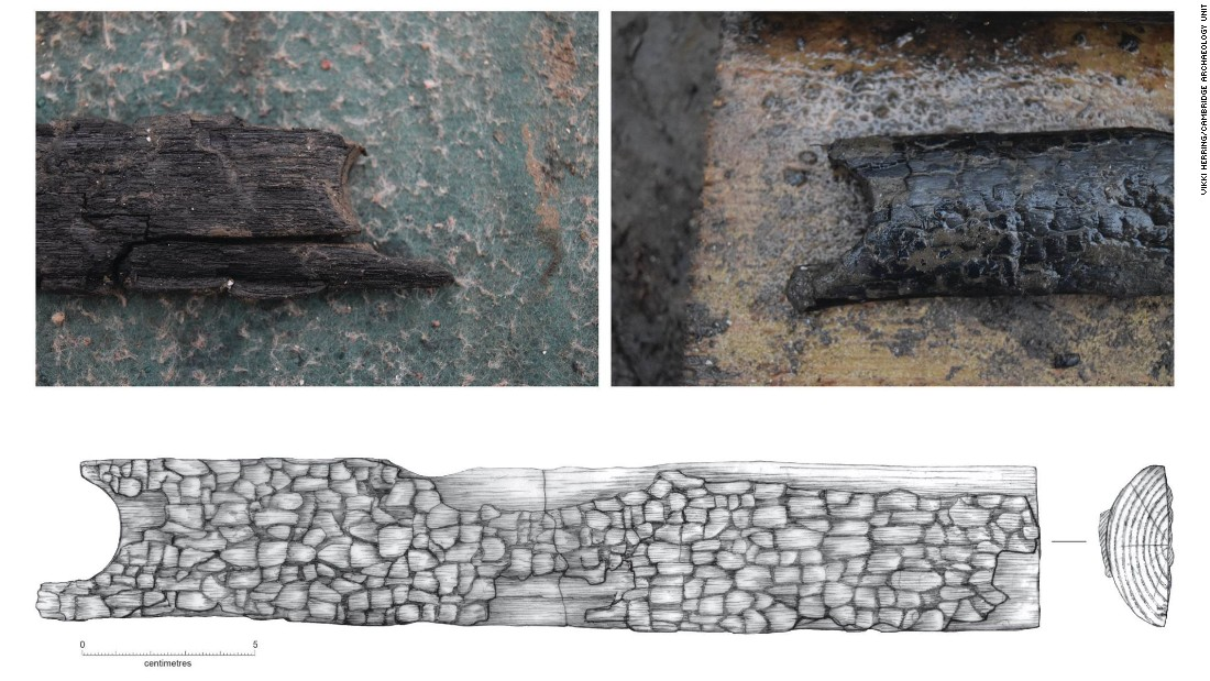 Every item found at the site is recorded, photographed and drawn by an archeological artist.