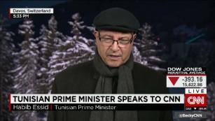Tunisian Prime Minister speaks to CNN