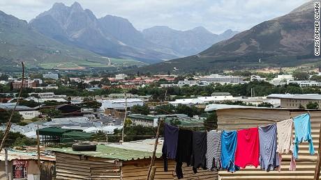 Enkanini is Cape Town's largest informal settlement.