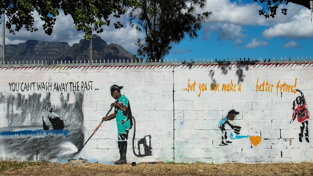 """For years, Cape Flats in southeast Cape Town was known as """"apartheid's dumping ground."""" Now, 21 years into democracy, social entrepreneurs are working to turn the townships around."""
