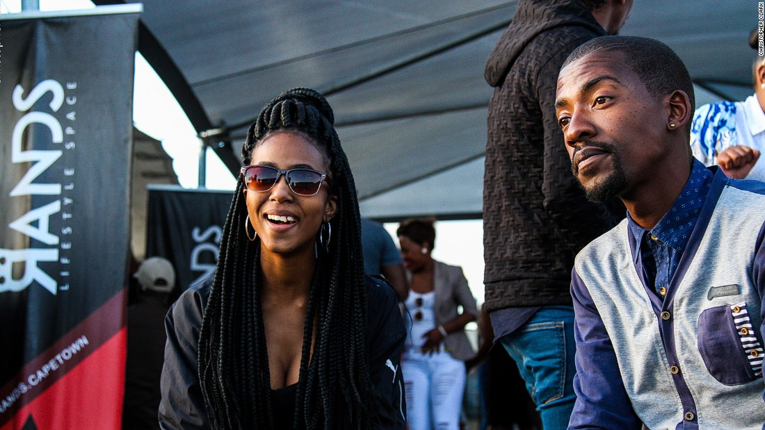 Rands is a hip open-air party spot which opened on Monza Street, Khayelitsha, in August. Owner Mfundo Mbeki says business is booming.