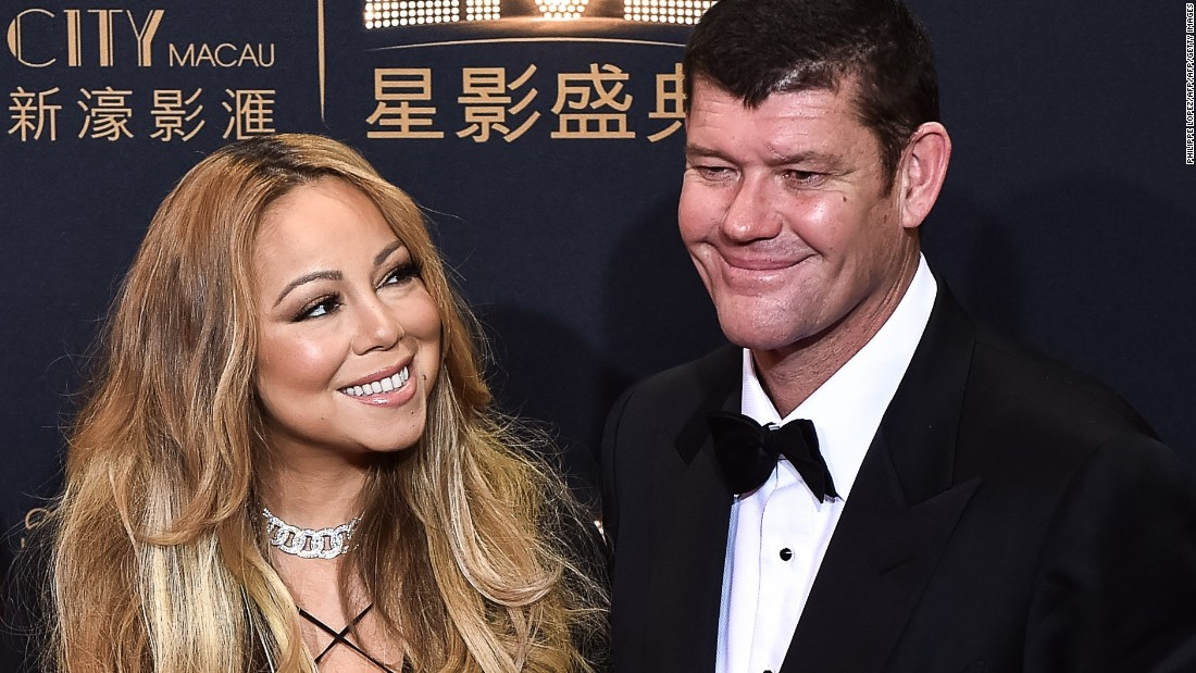Singer Mariah Carey and Australian billionaire James Packer got engaged just a few months after they were first seen cozying up together.