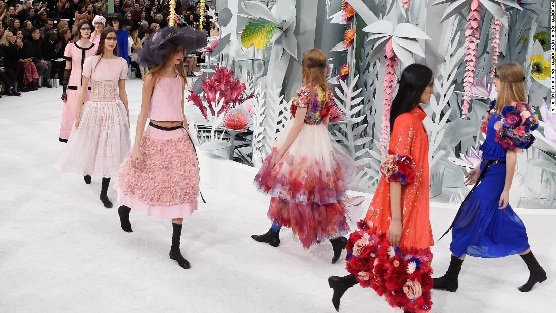 Chanel Haute Couture Spring-Summer 2015