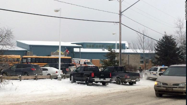 Report: Shooting at Saskatchewan community school
