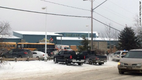 Report: Shooting at Saskatchewan community school