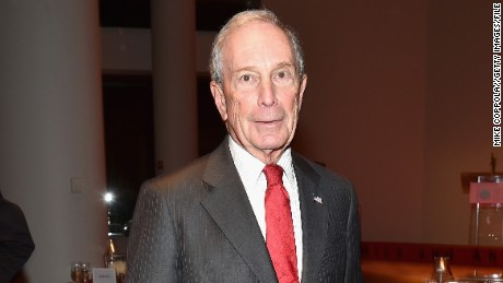 NEW YORK, NY - DECEMBER 17:  Former New York City Mayor, Michael Bloomberg attends the opening of the Mica and Ahmet Ertegun Atrium at Jazz at Lincoln Center on December 17, 2015 in New York City.  (Photo by Mike Coppola/Getty Images for Jazz at Lincoln Center)