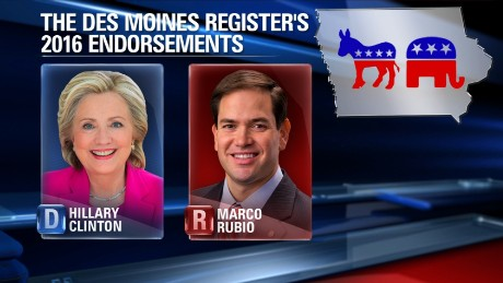 des moines register endorses rubio clinton lynn hicks intv nr_00012222