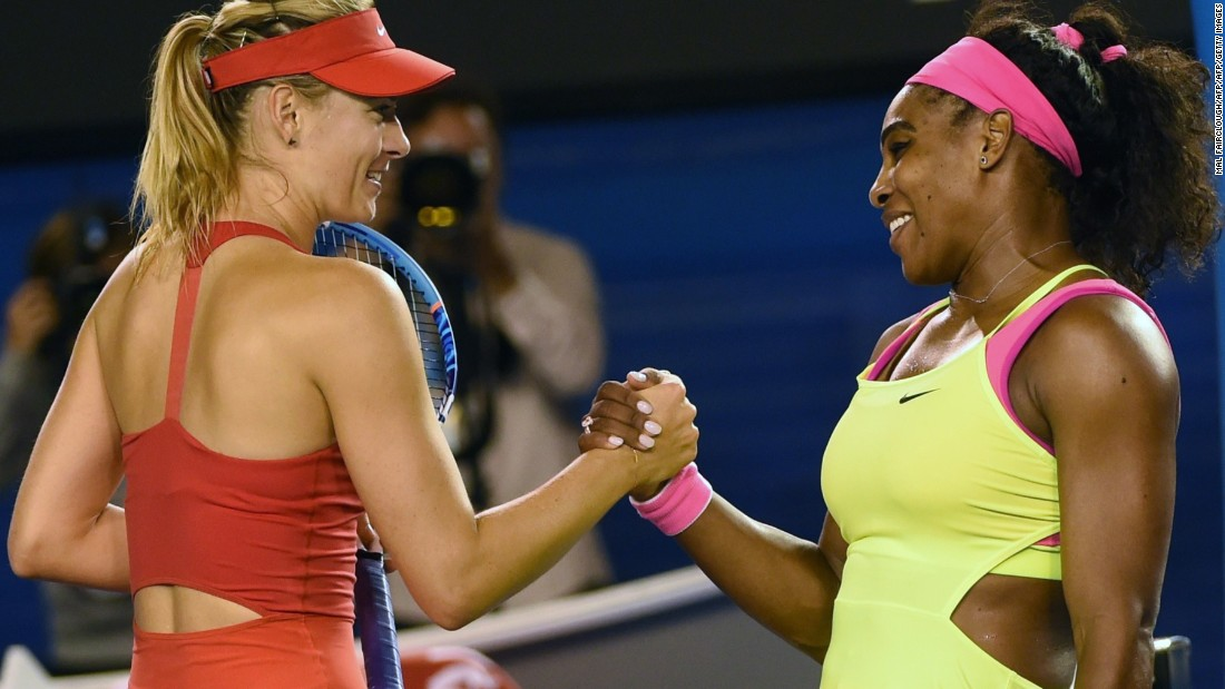 Old adversaries Maria Sharapova and Serena Williams will meet in the quarterfinals of this year's Australian Open.