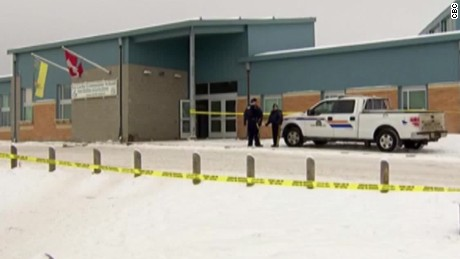 4 killings at school, residence shake Canadian town