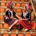 Thailand Hmong girls Scenes from the field