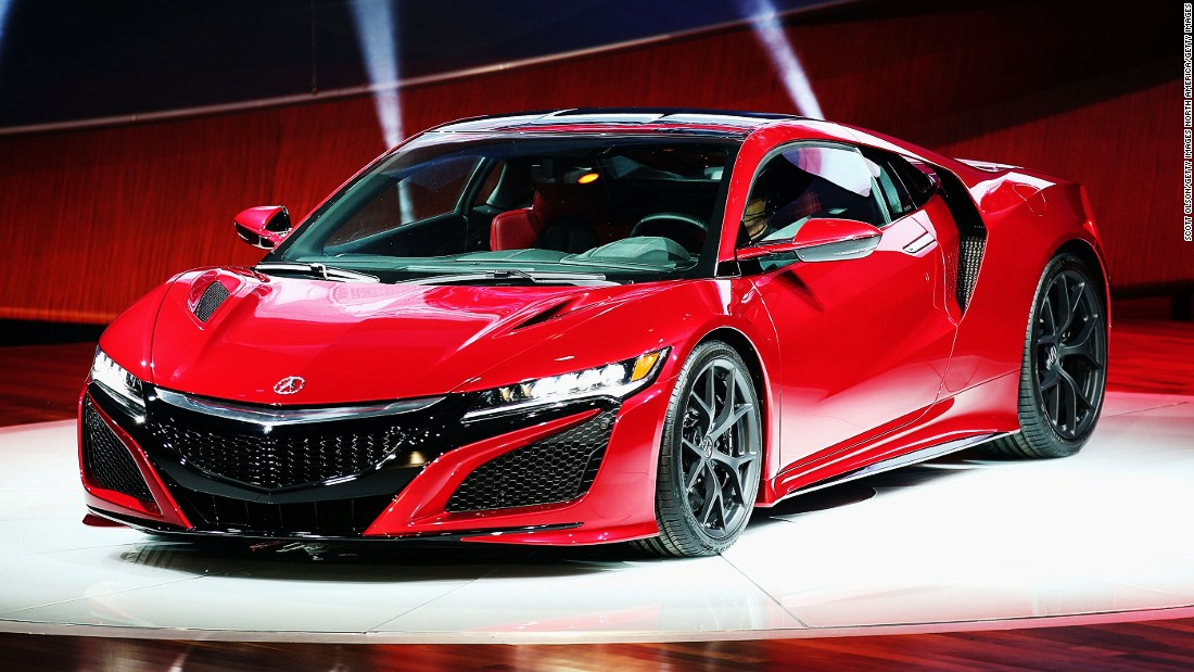 """""""The NSX is an iconic and timeless car, it's a beloved car by many enthusiasts, and so it was a very intense project for us,"""" she says. """"We knew how important it was for Acura to bring back this vehicle and for it to be more aggressive, more bad ass, more extreme."""""""
