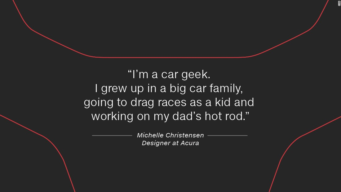 After 10 years working on Acura exteriors, Christensen was the perfect choice to design the next generation Acura NSX.