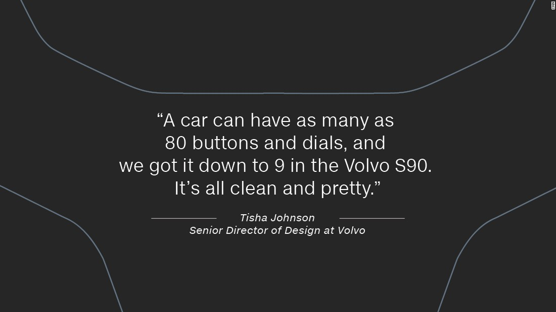 """But her career in automotive design took several years to  kick off. """"I had a really circuitous route to my job. I was actually working undercover security at Robinsons-May departments store for a while -- I took the job for the discounts,"""" she laughs."""