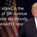 donald trump quote shoot somebody