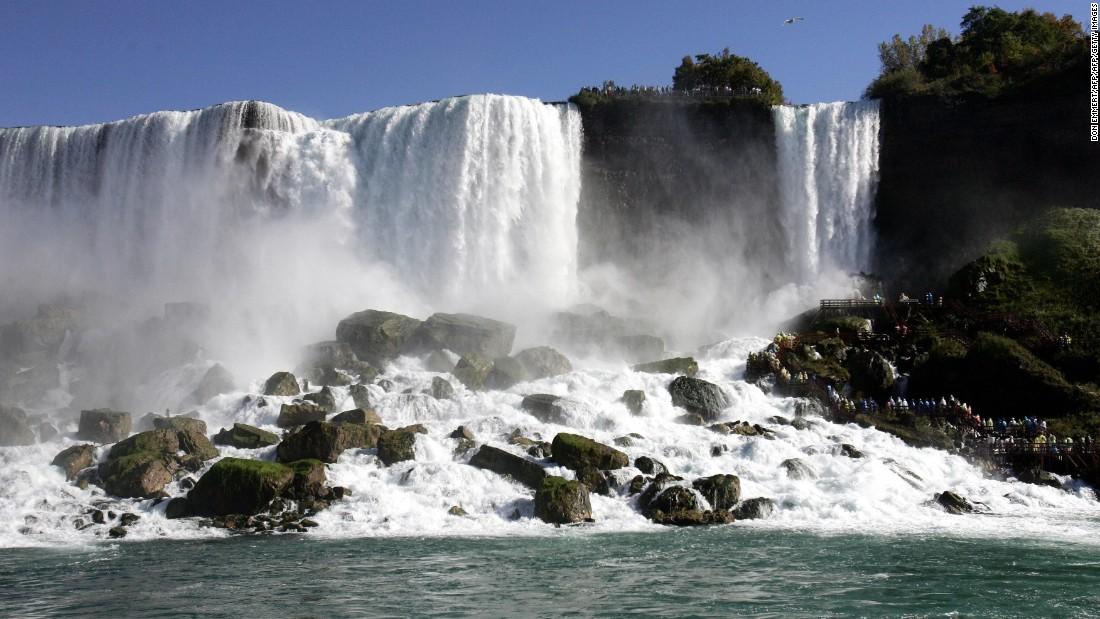 Bridge project could 'dry up' Niagara Falls