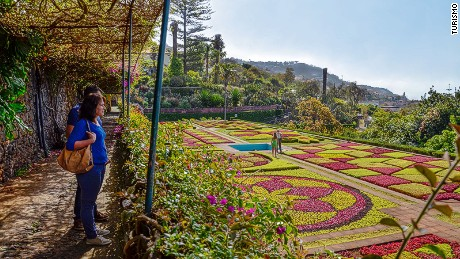 Through the flowers: The Jardim Botanico has 3,000 plant types.
