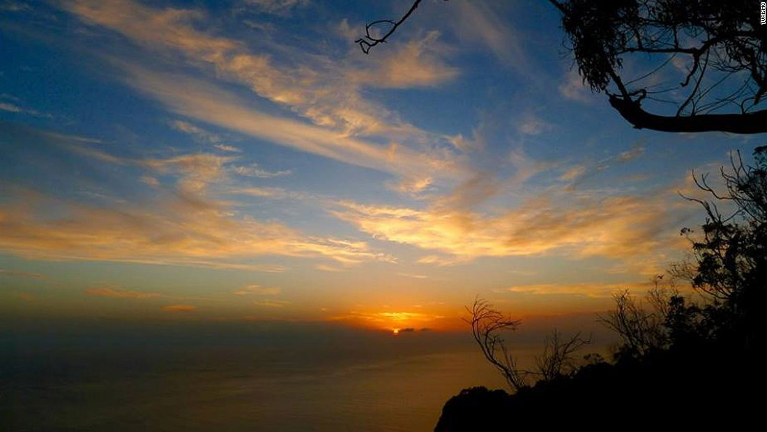 Phenomenal sunsets stretching out over the Atlantic are part of the attraction on Madeira.