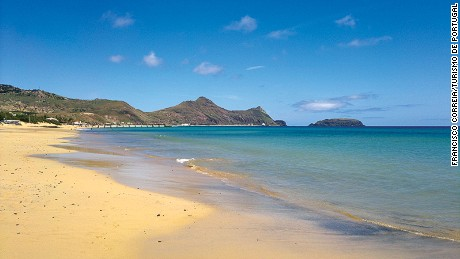 No beach, no problem. Neighboring Porto Santo has miles of golden sand.
