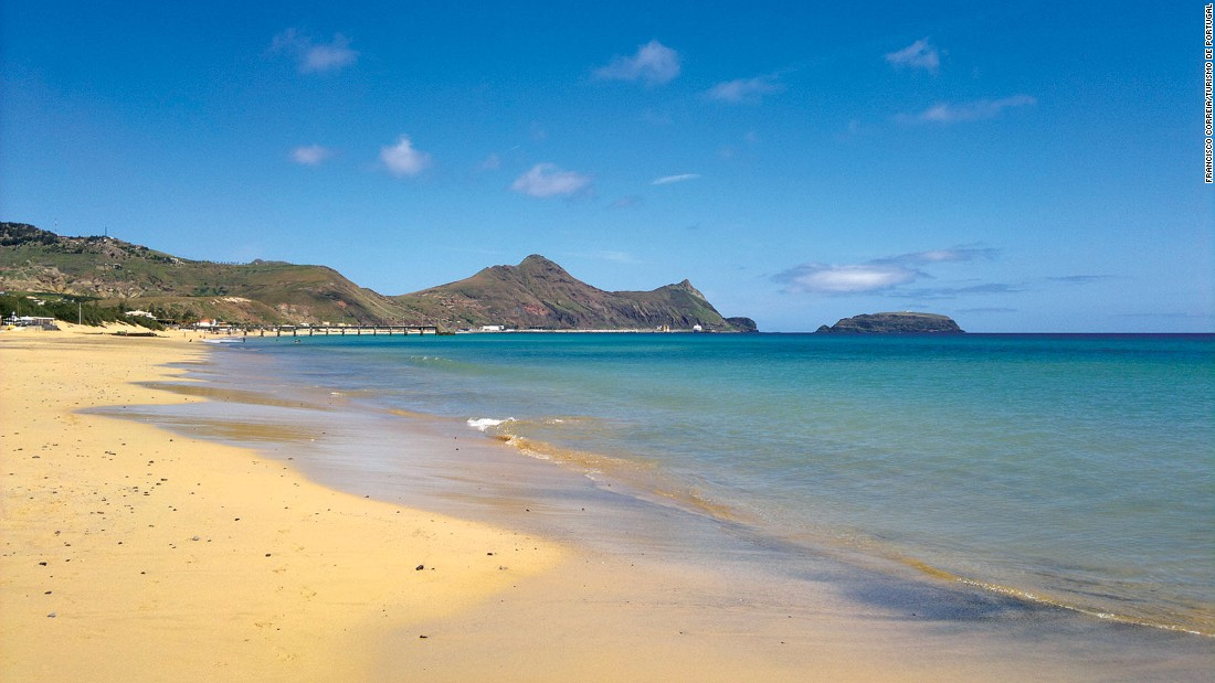 Madeira doesn't have beaches, but the pure golden sands of nearby Porto Santo make up for it.
