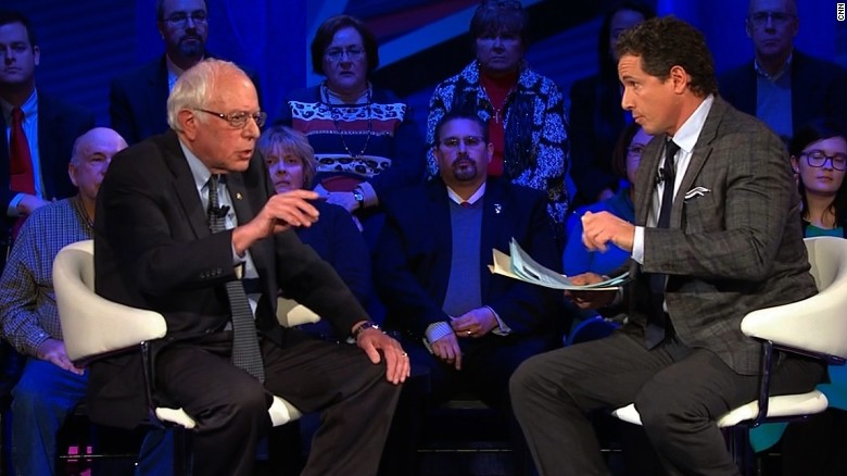 Bernie Sanders will raise taxes to pay for health care