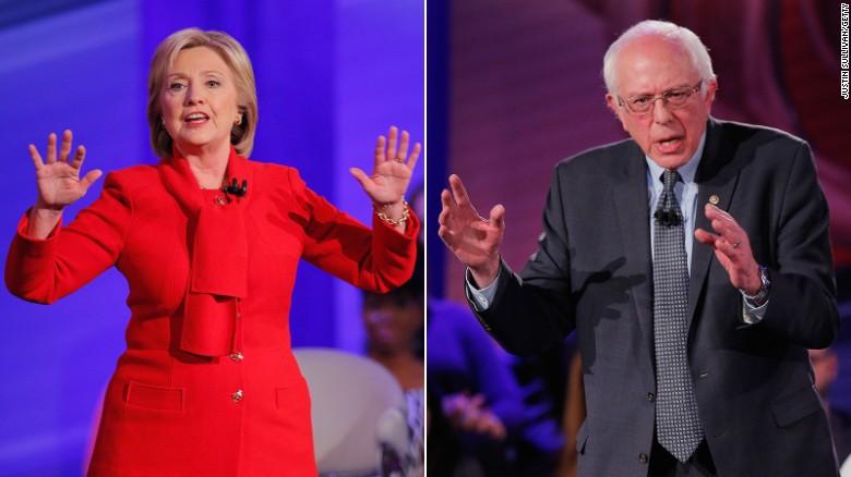 Sanders: Where was Clinton on progressive issues?