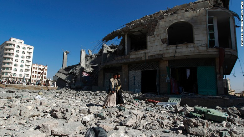Are U.S. munitions being used to kill Yemeni civilians?