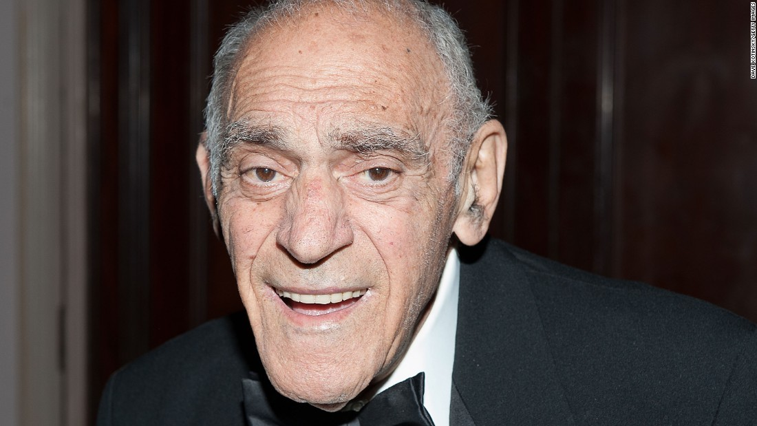 """Abe Vigoda, the long-surviving """"Godfather"""" and """"Barney Miller"""" actor, died January 26 at age 94. Vigoda became famous for his role as the decrepit detective Phil Fish on the television series """"Barney Miller,"""" but it was the inaccurate reporting of his death in 1982 that led to a decades-long joke that he was still alive. He played into the joke in late-night television appearances with Conan O'Brien and David Letterman."""